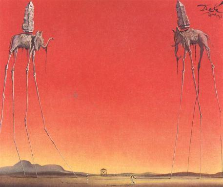 Salvador-Dali-The-Elephants-2-1948