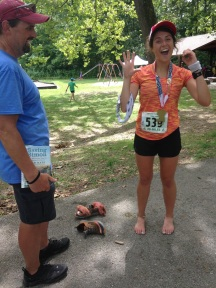 Signing up for the Psycho Psummer 20 mile run and running the Psycho Psummer 50k instead.